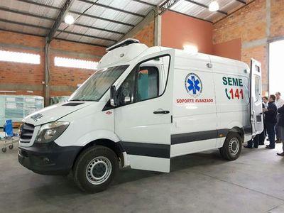 Itaipú financia compra de nuevas ambulancias para el SEME