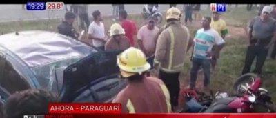 Carapeguá: Policía alcoholizado arrolló a una abuelita