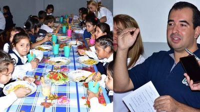 Inician servicio de almuerzo escolar en Santa Rosa