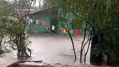 San Ignacio; en cada lluvia importante, la misma historia de siempre