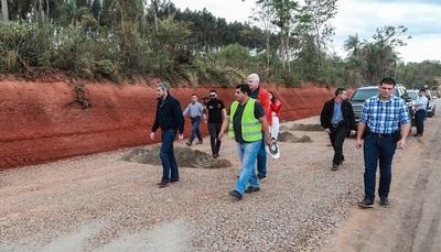 Abdo habilita hoy un tramo del corredor bioceánico.