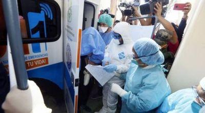 Paraguaya con coronavirus: