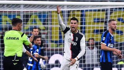 Suspenden Juve-Inter y otros cuatro partidos por coronavirus en Italia