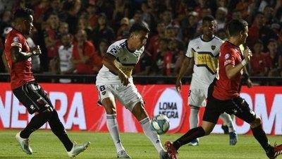"""Con Alonso, Boca Juniors goleó a Colón de """"Chelo"""" Estigarribia"""