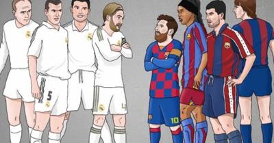 Real-Barça se juega esta tarde