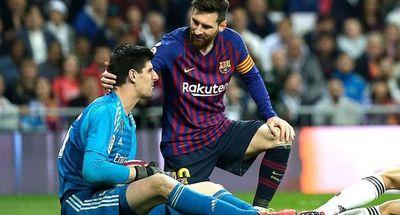Fue el quinto clásico consecutivo sin un gol de Messi