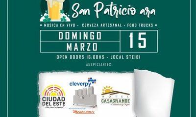 Feria de cervezas artesanales será el domingo