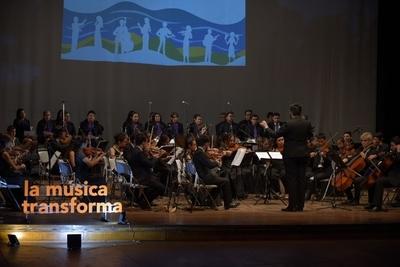 Música y conservación de agua presentes en concierto de  H2O Sonidos de Ñemby