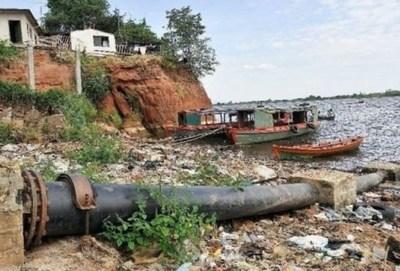 Urgen a municipios realizar tareas de limpiezas del río Paraguay