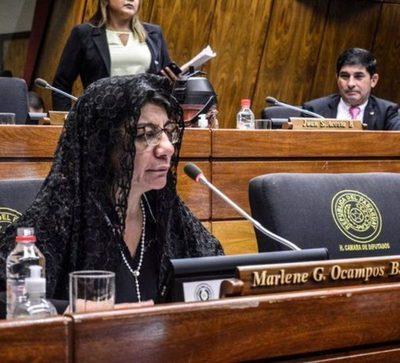 Diputada Celeste Amarilla pidió respeto para las mujeres feas y morenas