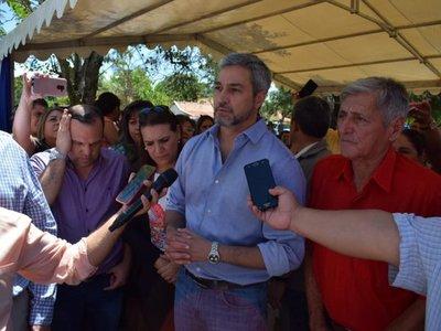 Mario Abdo dice que competencia fortalece al partido