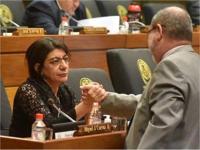 Diputada denuncia agresiones de escoltas de Mario Abdo en Loma Plata