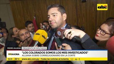 """""""Los colorados somos los más investigados"""""""