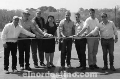 Se rompe histórico aislamiento en Amambay con inauguración del tramo Bella Vista Norte