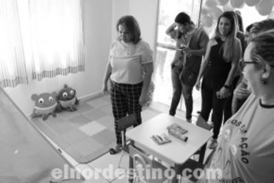 Secretaría Municipal de Asistencia Social de Ponta Porã inauguró una Biblioteca de Juguetes en un Centro de Referencia
