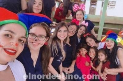 Alumnos de Universidad Sudamericana realizan destacada actividad social a favor de escuela de Pedro Juan Caballero