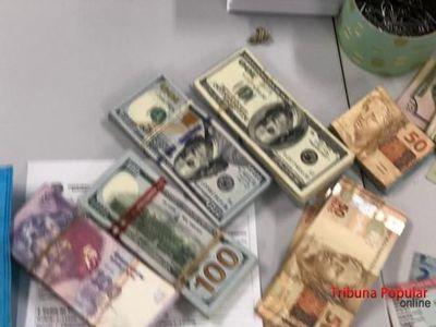 Detienen a paraguaya por evasión de divisas en Brasil