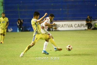 Capiatá empata con San Lorenzo en intenso juego