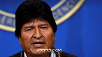 Evo Morales  habla de golpe de estado renuncia a la presidencia de Bolivia