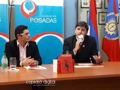 Escritor capiateño presenta novela en Guaraní en la Argentina