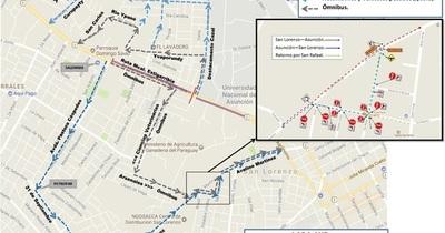 Metrobús: MOPC dispondrá mañana de más tramos alternativos