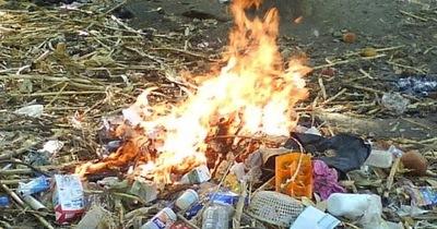 Casos de quemas de basura y pastizales son competencia de las municipalidades, aclara el Mades
