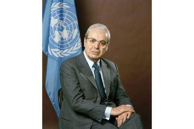 Fallece a los 100 años embajador Javier Pérez de Cuéllar