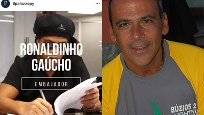 HOY / Empresario que trajo a Ronaldinho figura en el Lava Jato