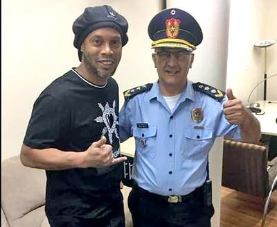 Crack brasileño se presento a declarar en la fiscalia