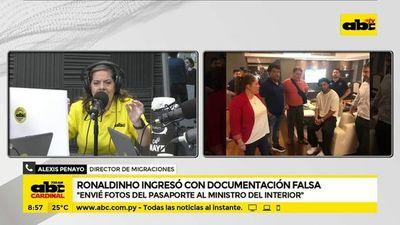 """Director de Migraciones: """"Alerte de la situación a mi superior"""""""