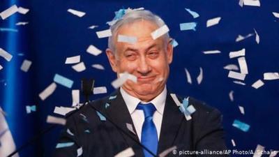 Benjamín Netanyahu: recuento oficial lo confirma como vencedor en las elecciones israelíes