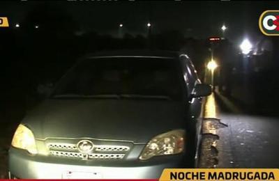 Villeta: Con tapa bocas, pero para robar un auto