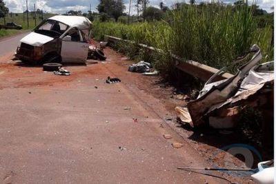 Accidente rutero a la altura de Guavirá dejó tres heridos
