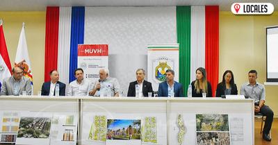 En la Gobernación de Itapúa se lanzó el programa impulsado por el MUVH, «Mi vivienda Paraguay»