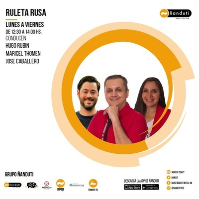 Ruleta Rusa con Hugo Rubin, Maricel Thomen y José Caballero