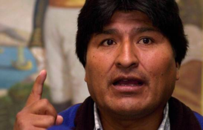 'Si hubo fraude, fue de la OEA', asegura Evo Morales