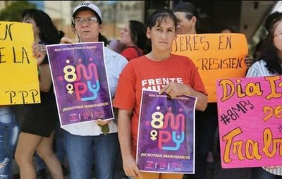 Mujeres marcharán por sus derechos económicos