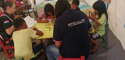Habilitan centro de atención permanente para niños indígenas