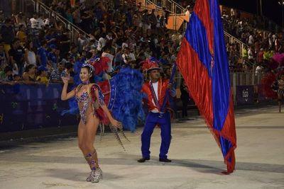 Pettirossi es el campeón del carnaval encarnaceno