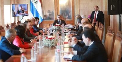 Abdo presidirá reunión del Consejo de Ministros en Palacio de Gobierno, este lunes