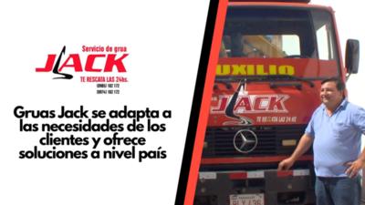 Gruas Jack se adapta a las necesidades de los clientes y ofrece soluciones a nivel país