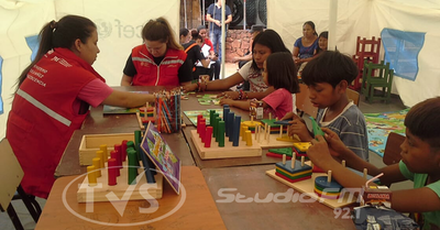 MINNA instaló un espacio seguro de atención permanente en la Terminal de Ómnibus de Asunción