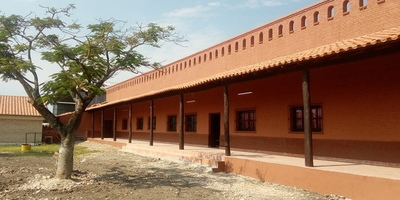 Escuela Parroquial de Puerto Casado es beneficiada con obras de refacción