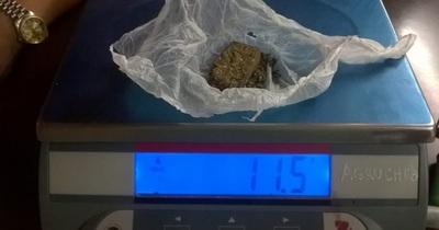 Un menor fue aprehendido por tenencia de marihuana