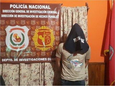 Fiscal imputa por feminicidio a un hombre en Guairá