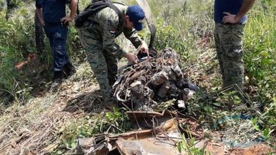 Maquinarias de la Gobernación habrían reparado pista clandestina donde fue hallado restos de avioneta