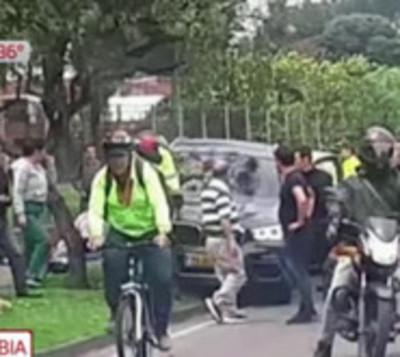 Masivo accidente de tránsito
