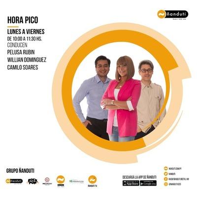 Hora Pico con Pelusa Rubin,Camilo Soares y Willian Domínguez » Ñanduti