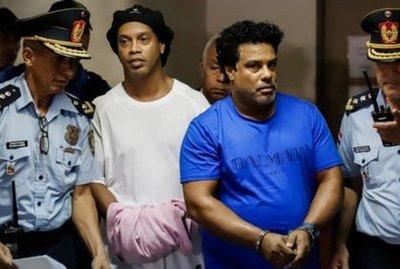"""A Ronaldinho se lo ve """"devastado"""" dice el jefe de la Agrupación Especializada"""