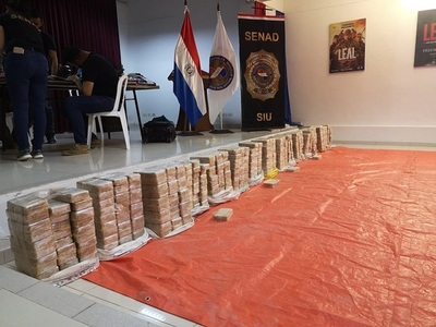 Incautan 400 kilos de cocaína en Concepción.